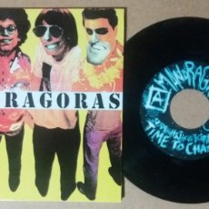 Discos de vinilo: MANDRAGORAS / STRAIGHT JACKET GIRL + 2 / EP 7 PULGADAS. Lote 243519475