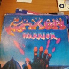 Discos de vinilo: SAXON. WARRIOR. SINGLE. Lote 243523245