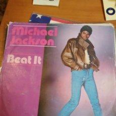 Discos de vinilo: MICHAEL JACKSON BEAT IT. SINGLE. Lote 243523500