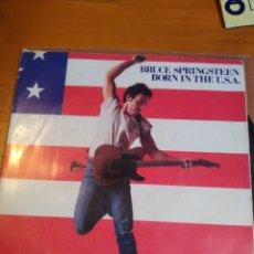 Discos de vinilo: BRUCE SPRINGSTEEN BORN IN THE U.S.A. SINGLE. Lote 243524470