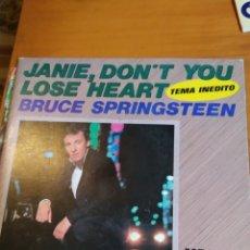 Discos de vinilo: BRUCE SPRINGSTEEN. I'M GOIN DOWN. SINGLE. Lote 243526860