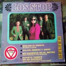 Discos de vinilo: LOS STOP – SALUD, DINERO Y AMOR 1967. Lote 243528435