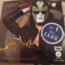 Discos de vinilo: STEVE MILLER BAND–THE JOKER . SINGLE EDICIÓN SPAIN 1975. PERFECTO ESTADO. Lote 243529255