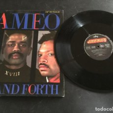 """Discos de vinilo: CAMEO – BACK AND FORTH - 12"""" GERMANY. Lote 243530885"""