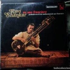 Discos de vinilo: RAVI SHANKAR – RAVI SHANKAR EN SAN FRANCISCO LP, SPAIN 1969. Lote 243533395