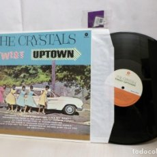 Discos de vinil: THE CRYSTALS--TWIST UPTOWN-WAX TIME- DMM -2015--MADE IN THE EU-. Lote 243535220