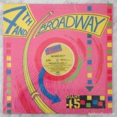 Discos de vinilo: MAXI-SINGLE - MILDRED SCOTT - PRISONER OF LOVE - 4TH & BROADWAY - 1986. Lote 243539295