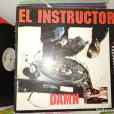 Discos de vinilo: DISCO DAMN - EL INSTRUCTOR. MAX MUSIC. Lote 243546345