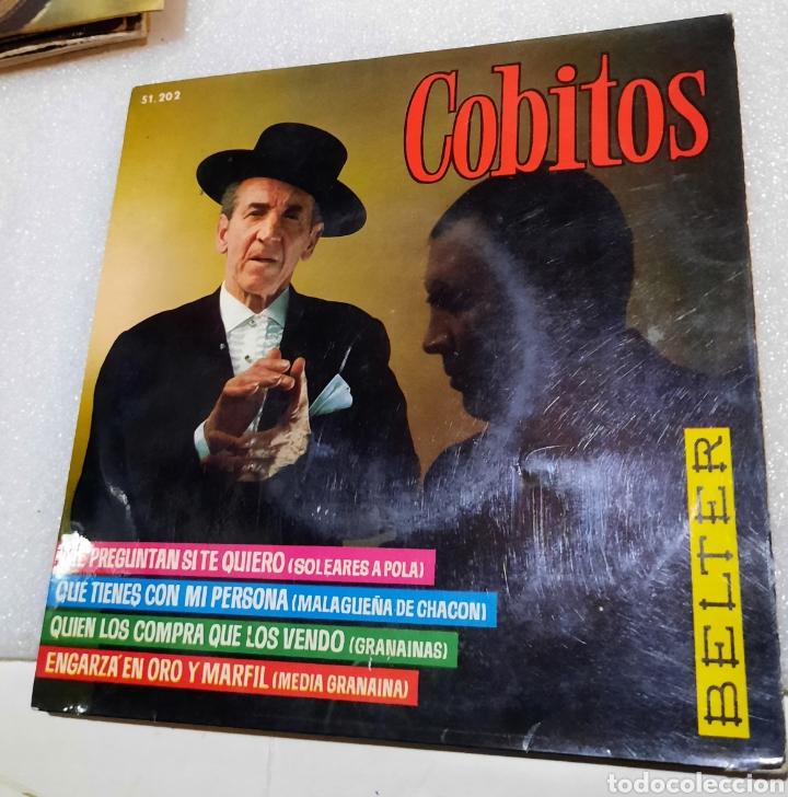 COBITOS - ME PREGUNTAN SI TE QUIERO + 3 (Música - Discos de Vinilo - EPs - Flamenco, Canción española y Cuplé)
