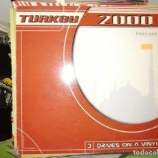 Dischi in vinile: DISCO TURKEY 2000. 3 DRIVES ON A VINYL. REMIXES. Lote 243560790