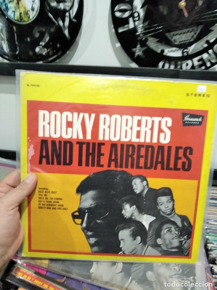 Discos de vinilo: LP ROCKY ROBERTS AND THE AIREDALES VG+/VG++ - Foto 1 - 243563360