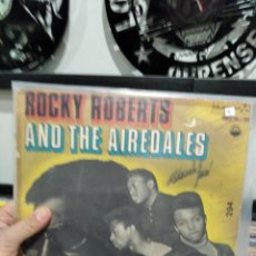 Discos de vinilo: LP ROCKY ROBERTS AND THE AIREDALES ORIG BRASIL G+/VGVG+ BUEN SONIDO MONO. Lote 243563685