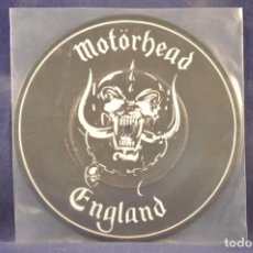 Discos de vinilo: MOTÖRHEAD - ENGLAND - (PICTURE DISC) - SINGLE. Lote 243564360