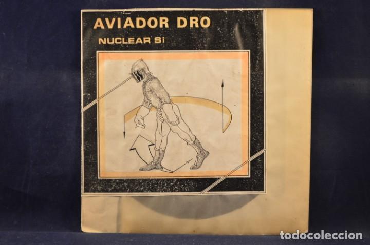 AVIADOR DRO - NUCLEAR, SÍ - EP (Música - Discos de Vinilo - EPs - Electrónica, Avantgarde y Experimental)