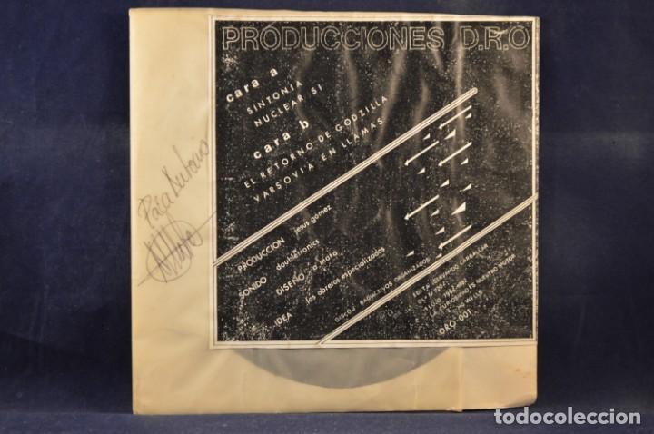Discos de vinilo: AVIADOR DRO - NUCLEAR, SÍ - EP - Foto 2 - 243565370