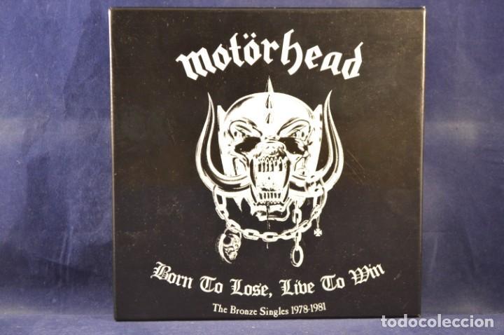 MOTÖRHEAD - BORN TO LOSE, LIVE TO WIN - THE BRONZE SINGLES 1978-1981 - 7 SINGLES (Música - Discos - Singles Vinilo - Rock & Roll)