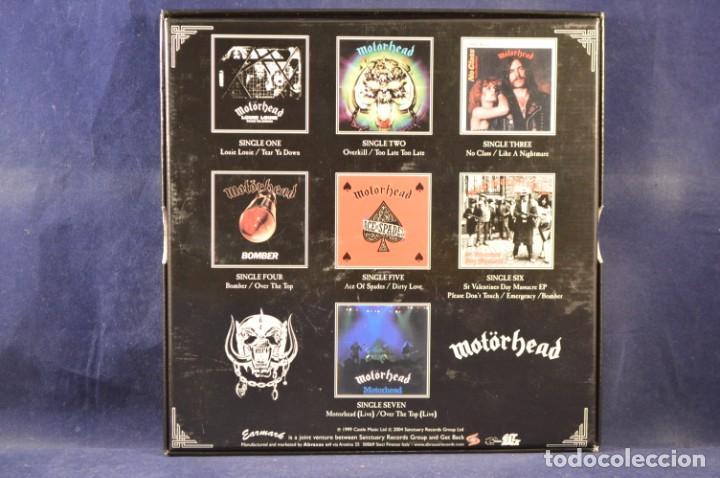 Discos de vinilo: MOTÖRHEAD - BORN TO LOSE, LIVE TO WIN - THE BRONZE SINGLES 1978-1981 - 7 SINGLES - Foto 2 - 243567050