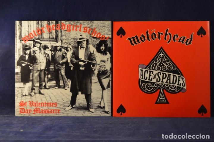 Discos de vinilo: MOTÖRHEAD - BORN TO LOSE, LIVE TO WIN - THE BRONZE SINGLES 1978-1981 - 7 SINGLES - Foto 5 - 243567050