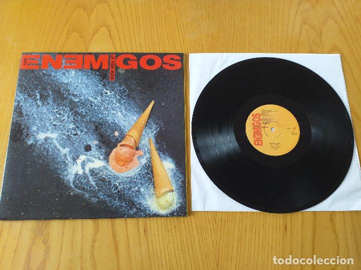 LOS ENEMIGOS- LA VIDA MATA- GASA 4GA 0374- 1990- EXCELENTE ESTADO (Música - Discos - LP Vinilo - Grupos Españoles de los 90 a la actualidad)