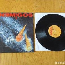 Discos de vinilo: LOS ENEMIGOS- LA VIDA MATA- GASA 4GA 0374- 1990- EXCELENTE ESTADO. Lote 243567340