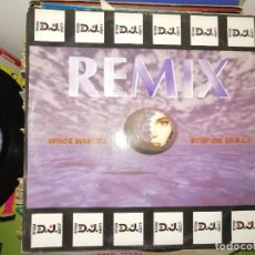 Dischi in vinile: LOTE 2 DISCOS. ROBIN S - LU 4 LUV Y REMIX. SPACE MASTER STEP ON (O.S.L.). Lote 243567790
