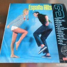 Discos de vinilo: ESPAÑA HITS / 3, LP, LOS SIREX . SOLO EN LA PLAYA + 11, AÑO 1966. Lote 243569180