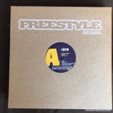 Discos de vinilo: RHIBOSOME - WALKIN' - 12'' MAXISINGLE FREESTYLE 2005. Lote 243575155