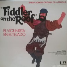 Discos de vinilo: FIDDLER ON THE ROOF (B.SONORA LP DOBLE DISCO. SELLO UNITED ARTISTS RÉCORDS. EDIT.EN ESPAÑA. AÑO 1975. Lote 243596140