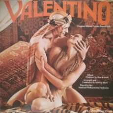 Discos de vinilo: VALENTINO ( BANDA SONORA). LP. SELLO UNITED ARTISTS RÉCORDS. EDITADO EN INGLATERRA.. Lote 243596480