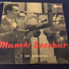Discos de vinilo: EP MANOLO ESCOBAR Y SUS GUITARRAS /DEBAJO DE LOS OLIVOS/SEVILLA LA NOVIA/PASODOBLE TE QUIERO/AL GARR. Lote 243602295
