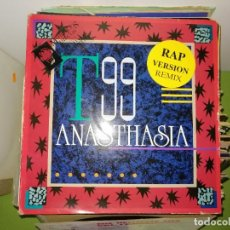 Discos de vinilo: DISCO T99 - ANASTHASIA. RAP VERSION REMIX. Lote 243604400