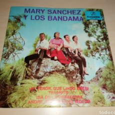 Discos de vinilo: MARY SÁNCHEZ Y LOS BANDAMA - COLUMBIA POR CANARIAS - SCV 517. Lote 243606570