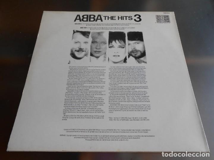 Discos de vinilo: ABBA, - THE HITS 3 -, LP, THE WINNER TAKES IT ALL + 13, AÑO 1988 MADE IN ENGLAND - Foto 2 - 243606620