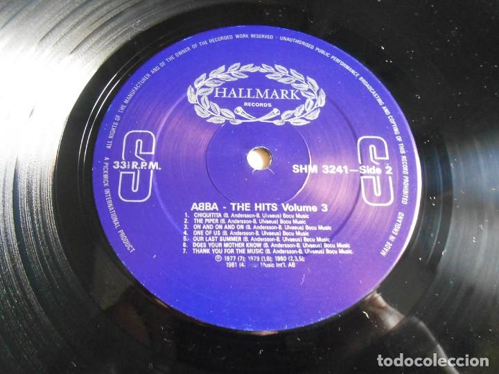 Discos de vinilo: ABBA, - THE HITS 3 -, LP, THE WINNER TAKES IT ALL + 13, AÑO 1988 MADE IN ENGLAND - Foto 4 - 243606620