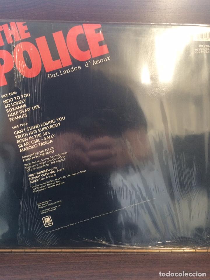 Discos de vinilo: POLICE. Outlandos DAmour. 1a. Ed. España. - Foto 2 - 243606715