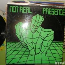 Discos de vinilo: DISCO PRESENCE - NOT REAL . CHIKI CHIKA.. Lote 243607155