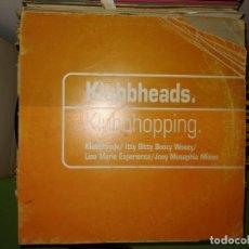 Discos de vinilo: DISCO KLUBBHEADS. KLUBBHOPPING REMIXES. Lote 243607495