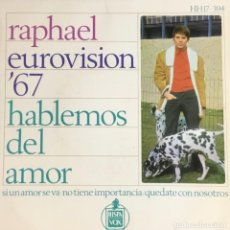 Discos de vinilo: RAPHAEL - HABLEMOS DEL AMOR. Lote 243608905