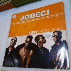 Discos de vinilo: JODECI - CRY FOR YOU. Lote 243609310