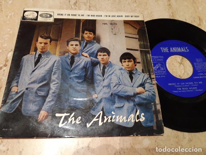 THE ANIMALS - BRING IT ON HOME TO ME. EP 1965 EDICIÓN ESPAÑOLA- (Música - Discos de Vinilo - EPs - Pop - Rock Internacional de los 50 y 60)