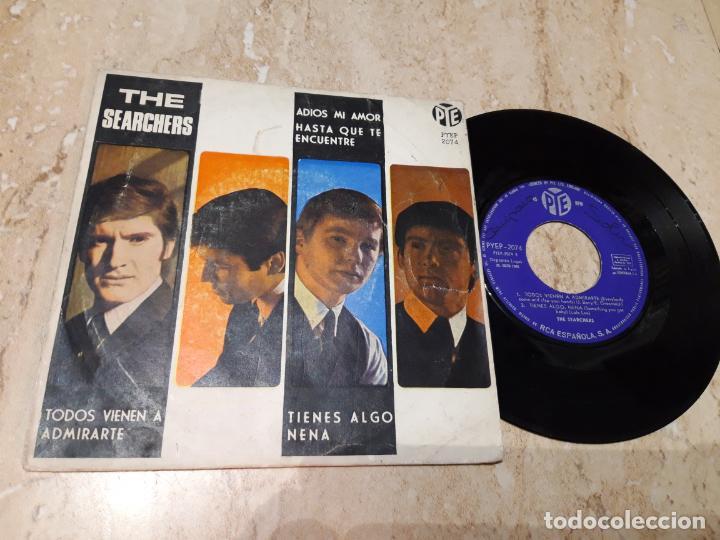 THE SEARCHERS*ADIOS MI AMOR +3*EDICION ESPAÑOLA EP PYE 1966- (Música - Discos de Vinilo - EPs - Pop - Rock Internacional de los 50 y 60)