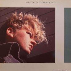 Discos de vinilo: ANNE CLARK – PRESSURE POINTS. Lote 243616410