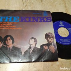 Discos de vinilo: THE KINKS. YOU REALLY GOT ME + 3. EP. HISPAVOX 1965-. Lote 243618695
