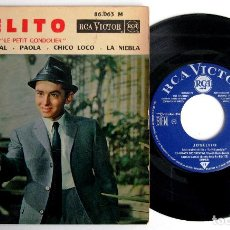 Discos de vinilo: JOSELITO - LE PETIT GONDOLIER (LOCA JUVENTUD) - CHICO LOCO +3 - EP RCA VICTOR 1964 FRANCIA BPY. Lote 243622480