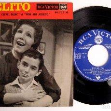 Discos de vinilo: JOSELITO - LE CHEVAL BLANC (EL CABALLO BLANCO) - EL EMIGRANTE +3 - EP RCA VICTOR 1963 FRANCIA BPY. Lote 243623865