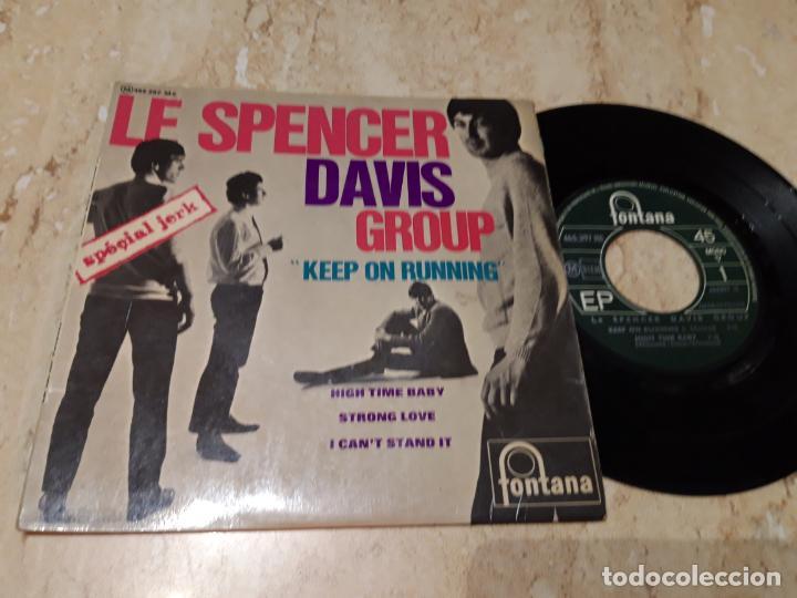 LE SPENCER DAVIS GROUP KEEP ON RUNNING+3-RARA EDICION FRANCIA-EP-1965- FONTANA – 465 297 ME (Música - Discos de Vinilo - EPs - Pop - Rock Internacional de los 50 y 60)