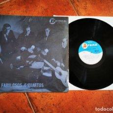 Discos de vinilo: LOS FABULOSOS 4 CUARTOS LP VINILO DEL AÑO 1965 CHILE CONTIENE 12 TEMAS. Lote 243626070
