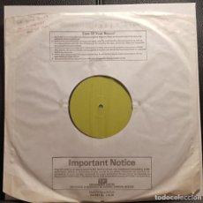 Discos de vinilo: PAUL MCCARTNEY - BEATLES - TAKE IT AWAY - MAXISINGLE TEST PRESSING - UK - MEGA RARO - NO USO CORREOS. Lote 243630500