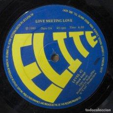 Discos de vinilo: LEVEL 42 - LOVE MEETING LOVE / INSTRUMENTAL LOVE - 1980 - MAXI. Lote 243641625