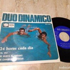 Discos de vinilo: DUO DINAMICO EP 1966 24 HORAS CADA DIA/ TAL VEZ/ ME GUSTA EL VERANO/ ME CANSE DE ESPERAR/ EXCELENTE. Lote 243646195